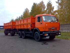 КАМАЗ 45143-А4 С ПРИЦЕПОМ